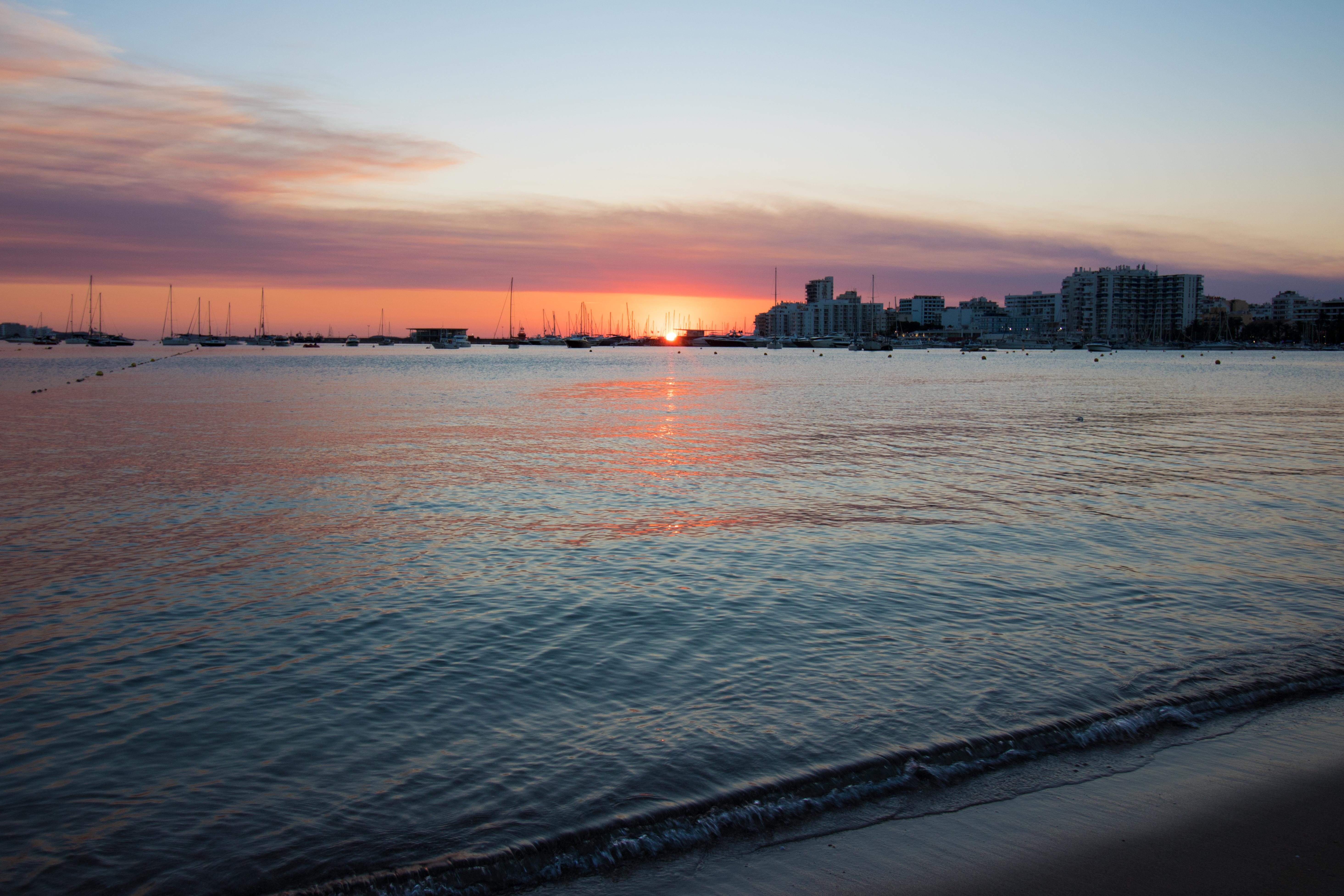 Ibiza Spain Sunset