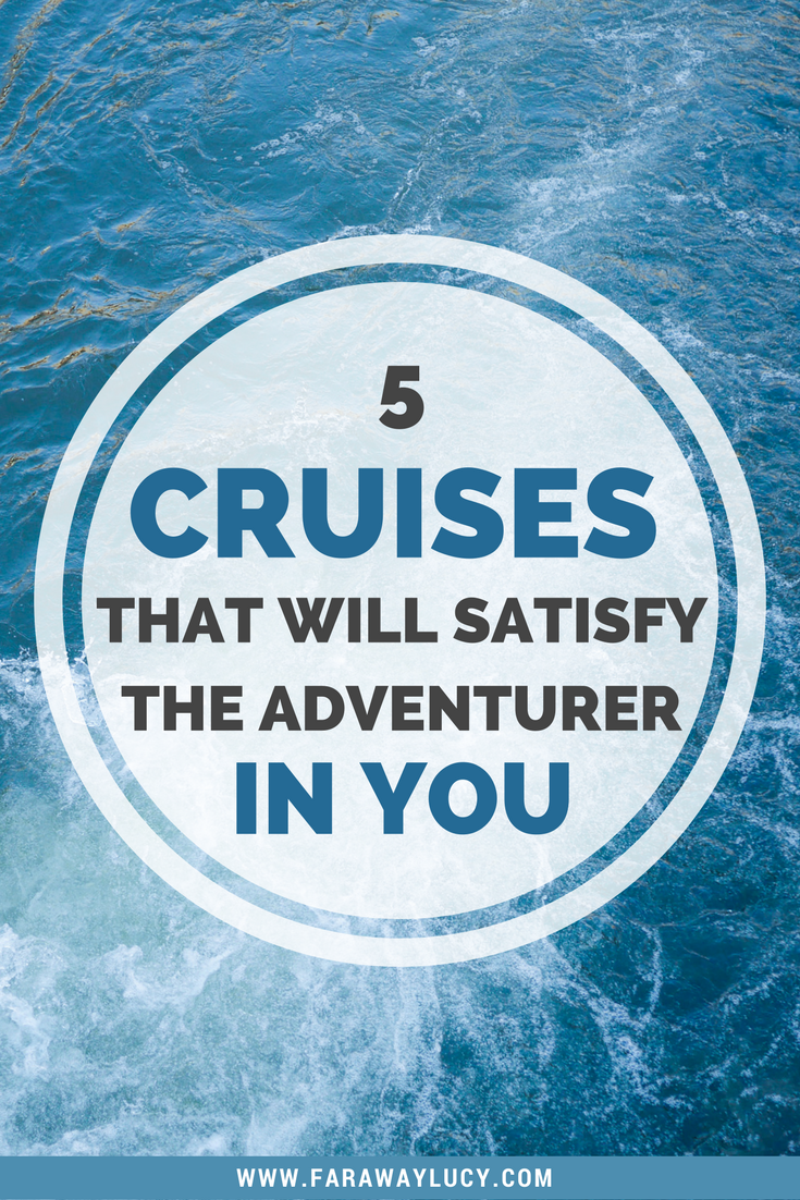 5 cruises around the world that will satisfy the adventurer and dareful in you, from the Norweigan fjords to Hawaii. Click through to read more...